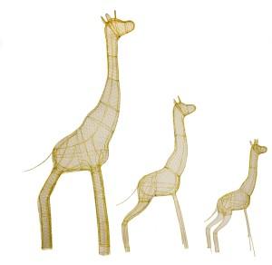 Жирафы, топиар, фигуры для сада