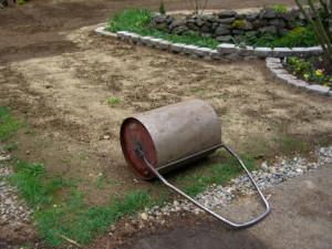 Каток для газона - его можно сделать самостоятельно